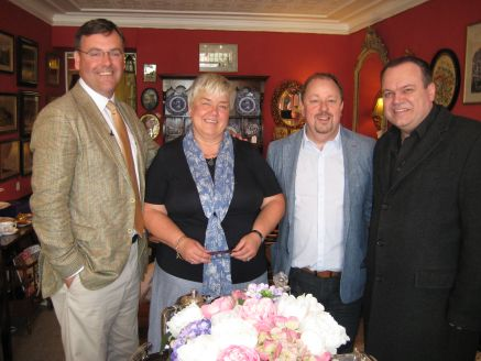 Filming with BBC Celebrity Antiques Road Trip