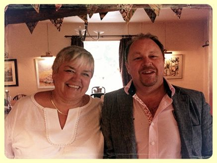Linda and Chris Hanby Crowsnest Antiques